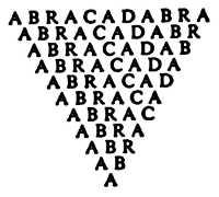 L'origine de Abracadabra.